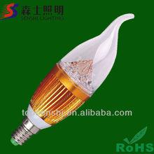 SS-B523 LED Candle Bulb Light E12,LED Candle Bulb,LED Candle Lamp/light bulbs led
