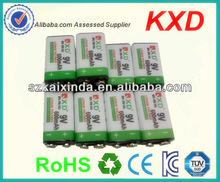 600mah 9 volt rechargeable battery for led flashlight MSDS by sea and by air
