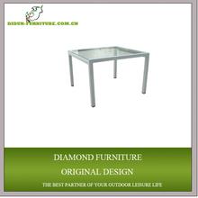 high quality aluminum unique side table