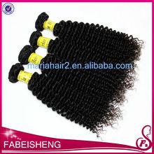 new 5A grade Virgin brazilian hair kinky curly hair extention wholesale