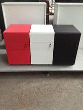 three drawer cabinets office furniture/hanging file storage/metal pedestal cabinet
