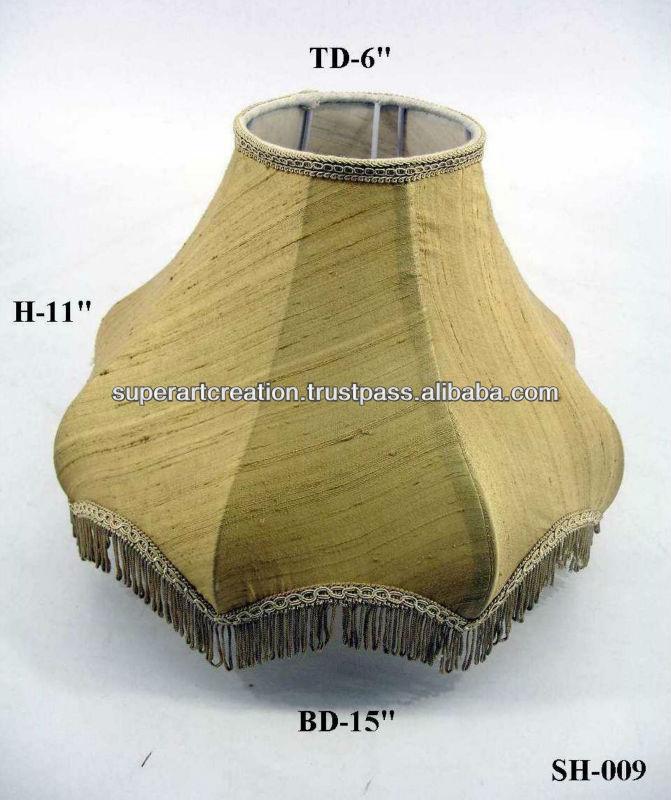 Lamp Shades Fringed Lamp Shade w/ Fringe