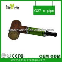 Forevertop Shenzhen manufacture fancy handmade oil smoking cigarette G27 e pipe for big oil vapor