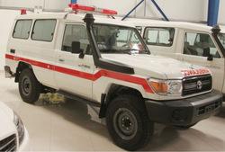 Toyota Land Cruiser Ambulance Grade 1 4x4 Model 2013