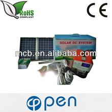 12W DC 2012 portable solar lighting system Smart Power Solar Lighting System