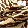 Tiger Pattern tulip fabric European Style