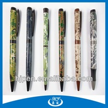 Promotional Personalized Logo Army Metal Ballpoint Pen Camouflage Military Pen