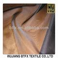 Organza poliestere tintura del tessuto/arruffato tessuto organza/organza di seta tessuto
