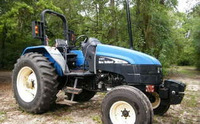 Farm Tractor New Holland TL80