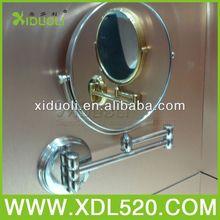 chrome cosmetic mirror/cosmetics accessories mirror/visor mirror