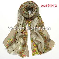 wear indian shawl