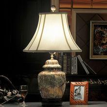 Hand made painted Ceramics lamps, Ceramics Craft, Antique ceramic lamp L178
