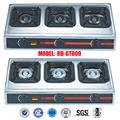 Acero inoxidable 3 quemador de gas ( RD-GT009 )