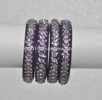 Indian Wedding Crystal Studded Glass bangles