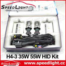 Top Selling and High Quality AC DC 12V 24V 35W 55W 75W H4 Xenon Kits 8000K