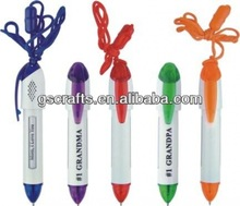 hanging rope promotional gift ball pen