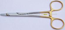 Quirúrgico de la aguja de la aguja aguja TC titular de carburo de tungsteno de la aguja