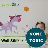 wall kids adhesive stickers fashion wall decoration drawing