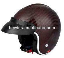 carbon fiber half face motorcycle helmets