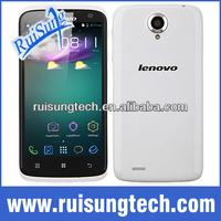 "Lenovo S820 MTK6589 Quad core 1G RAM+4G ROM Android 4.2 Mobile phone 4.7"" IPS HD Screen Multi Language"
