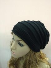 Fashion Women Warm Rageared Baggy Winter Beanie Knit Crochet Ski Hat Cap Warmer