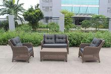 D- terraço ao ar livre conjunto de sofá de fc004