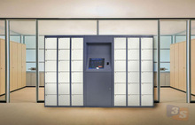 Electronic lockers in 4 operation choices