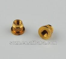 plastic nut cap/cold forging/fastening nut/furniture fitting nut