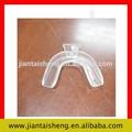 dental para blanquear los dientes para blanquear bandejas elástico suave termo de plástico bandeja de la boca
