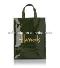 shiny pvc bag/shiny pvc tote bag/pvc shiny bag