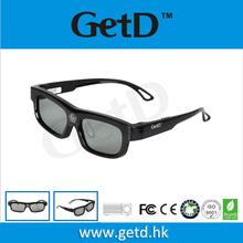 29g DLP 3D glasses promotion for DLP projectors & TV US$10 pink & black model GL1100
