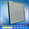 Guangzhou High quality security Windows with internal mini blinds