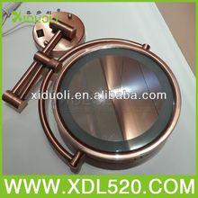 Espelho que faz a máquina / telescópica espelho com luz / promoção espelho de bolso