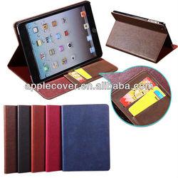 for iPad Mini Retina flip leather case
