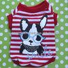 Stripe Pet T-shirt, Wholesale Dog Clothing