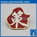 En alliage de zinc badge personnalisé lettres, avec la conception de projet