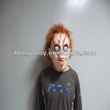 Adult Animal Full Head Latex Chucky Doll / latex Chucky mask made of nature latex