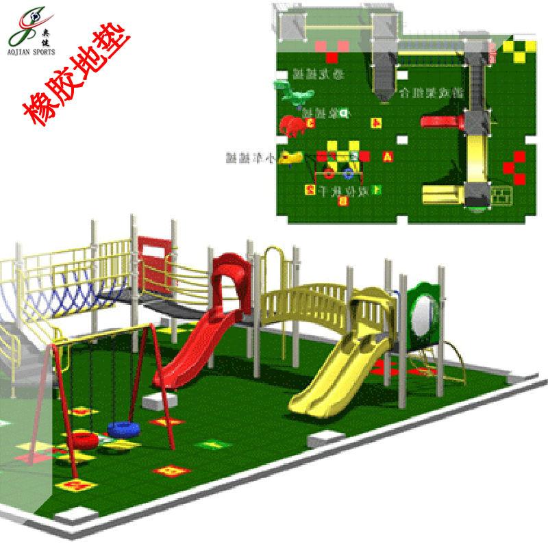 rubber running track/athlete mat for children amusement