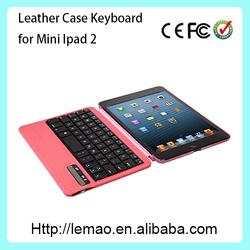 New design wireless bluetooth keyboard for ipad mini 2,smart cover,keyboard for iPad mini 2