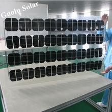 Low MOQ High Effieciency BIPV Sun Power Solar Panel