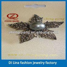 Metal novelty hat shape brooch pins