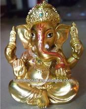 India idol Dharma elephant nose God ganesh murti