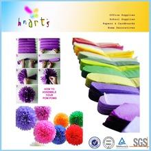 wedding decorative of tissue paper flower balls/craftwork of tissue paper flower balls