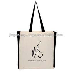 cotton bags promotion drawstring cotton bag