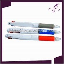 cheap and high quality white barrel Two colors ball pen