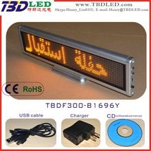 B1696 led message moving signs led mini display,led message sign