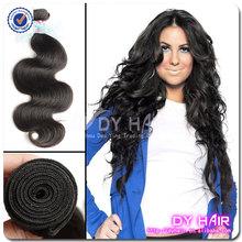 Nuevo arrvial de la buena calidad para hermosa de las muchachas malasio de la virgen de la onda del cuerpo del pelo que teje