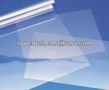 Customized plastic transparent Front Printing PET Film