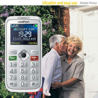 small size mobile phone for old people and kids super slim cell phone with large buttons and camera