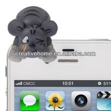 3.5mm Jack Creative Dog Style Earphone Anti-dust Plug for iPhone 4S & 4 / iPod / iPad